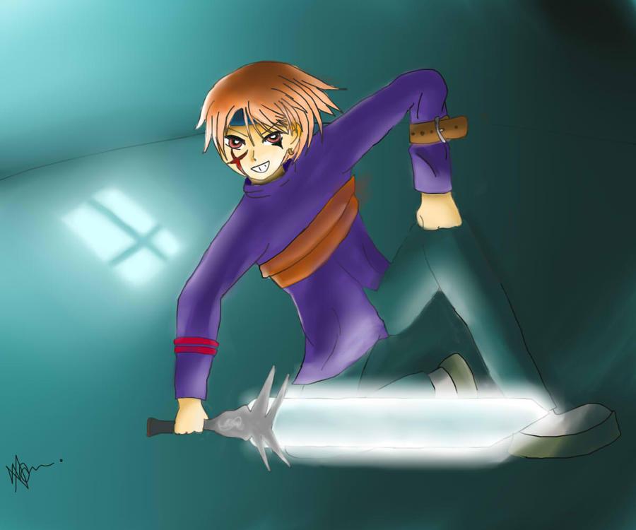 Sword Guy by CraZyxxKidd0