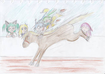 MoE Festival : Balap Kuda Katanya :v by RemitachiUchiscarlet