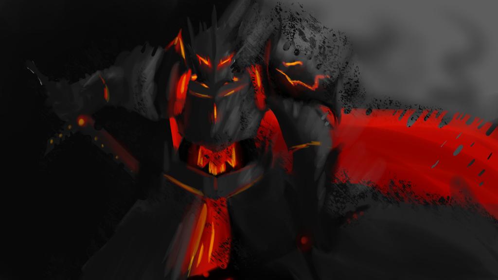 Dark Knight by TheSpecificDude