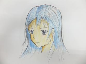 aoikami no shoujo2 by weiwere