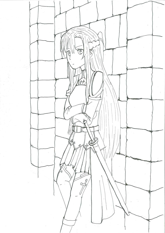 Asuna (Inked)
