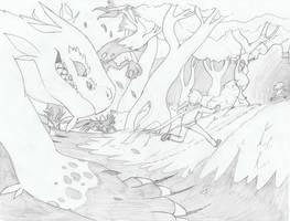 [Sketch] The Escape