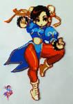 Chun Li - Street Fighter (Sold)