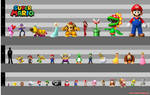 Super Mario Bros. Height Chart