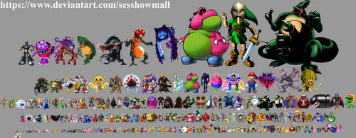 Nintendo Height Chart B by sesshowmall