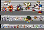 Mega Man 7: Height Chart