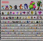 Ultimate Nintendo Height Chart