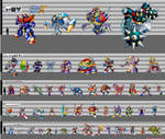 Mega Man X Heights (SNES) by sesshowmall