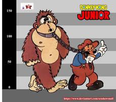 Donkey Kong Jr. Artwork