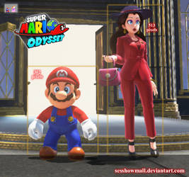 Super Mario Odyssey: Pauline