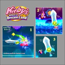Kirby's Ultra Sword Size