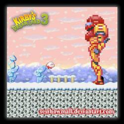 Kirby's DL3: Samus Cameo