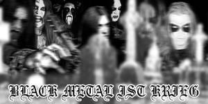 Black Metal ist Krieg by SirFilth