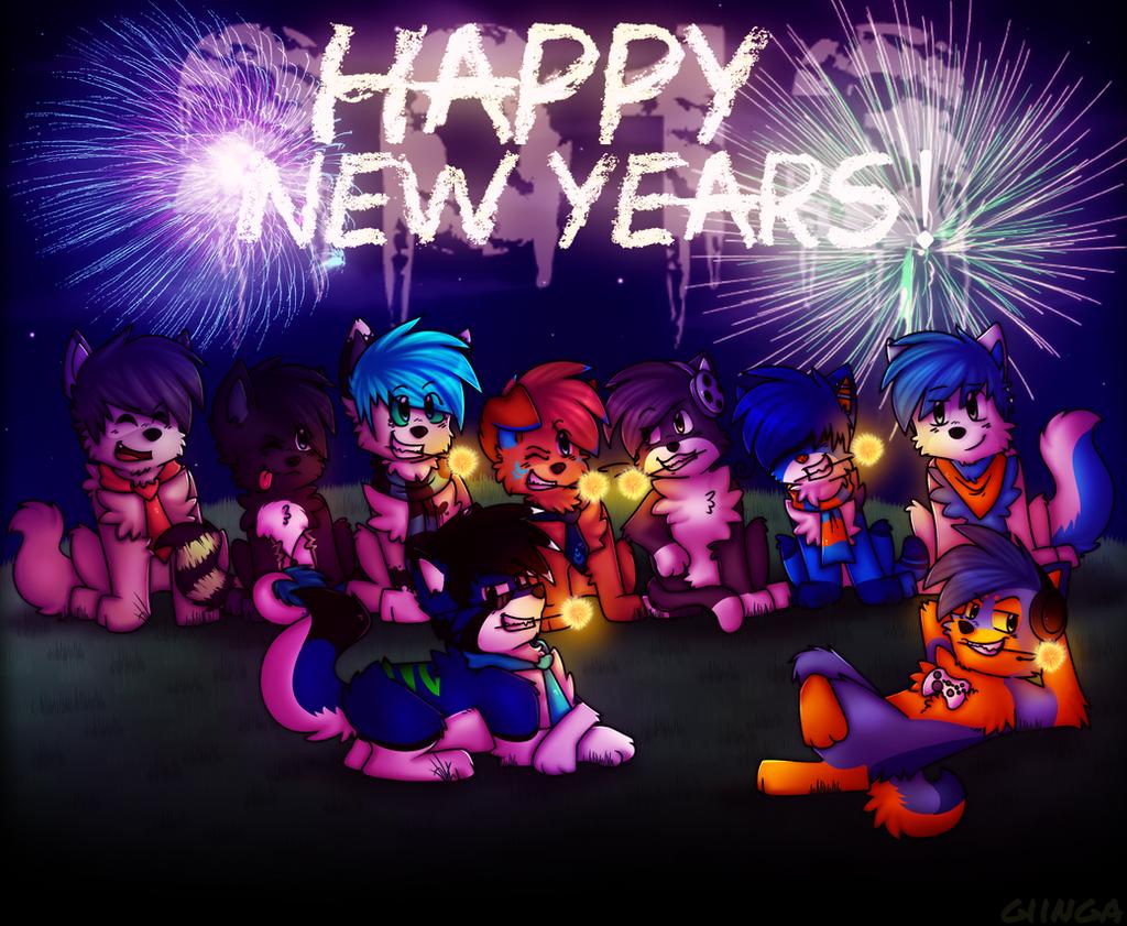 Happy New Years 2013 by giinga