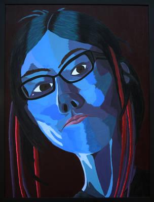 Self Portrait (Despair) by DestroyerMariko