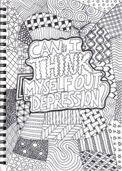 Can I Think Myself Out Of Depression? by DestroyerMariko