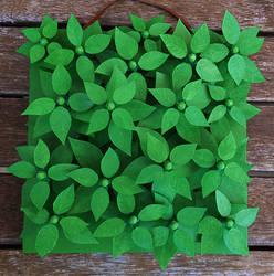 Untitled Electronic Leaf Artwork