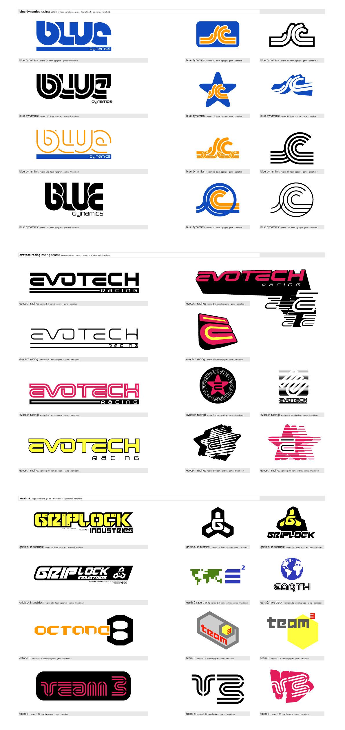 Racing Team Logos
