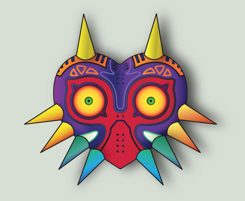 Majora's Mask Color by Skuldier