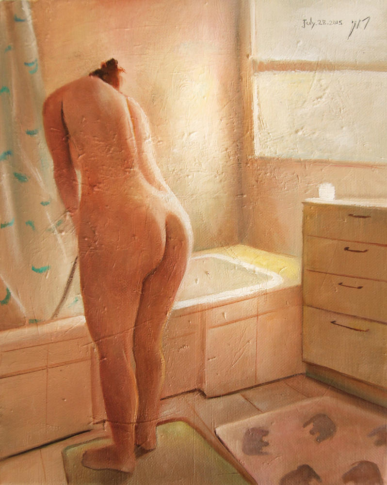 IL in theshower roni yoffe 2015 by roni-yoffe