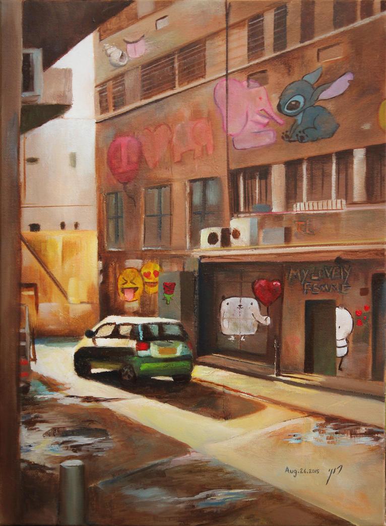 street_tlv by roni-yoffe
