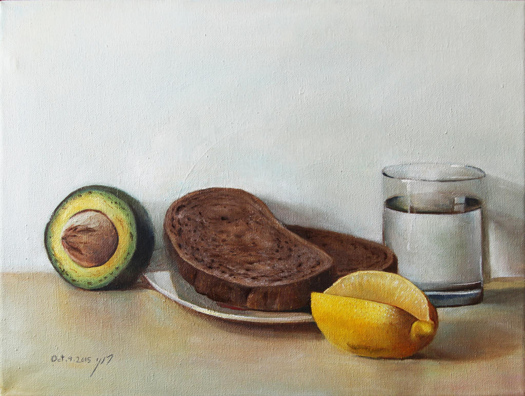 Still life painting by roni-yoffe