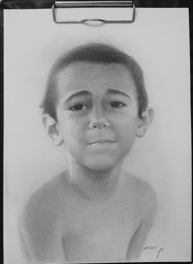 portrait of a boy by roni-yoffe