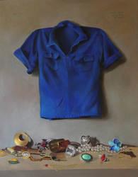 A Blue Shirt Surpass all Jewelry