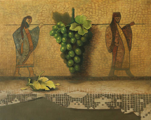 Time of the firstripe grapes