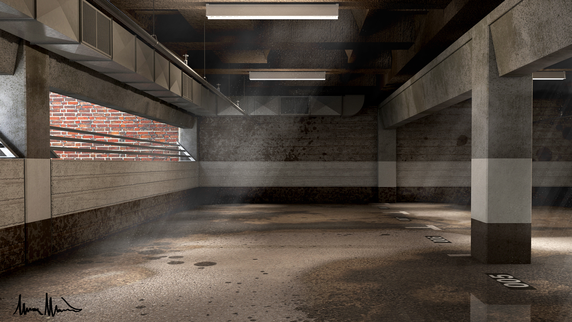 Parking garage somewhere in europe by lucamarin on for Garage d ambonnay