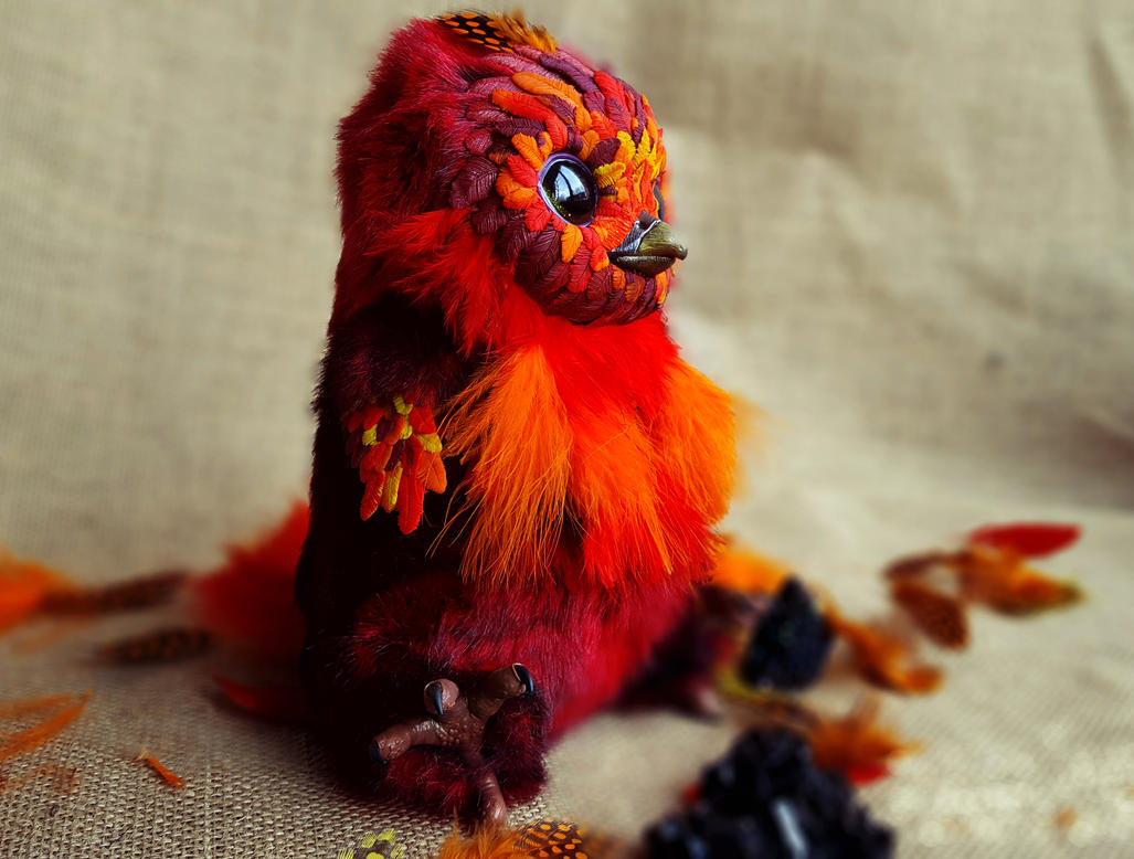 Harry potter phoenix by MelvonAndReine