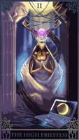 20120111 High Priestess Robot Tarot