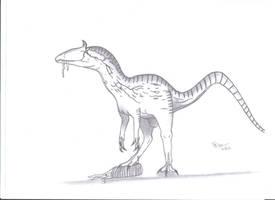 Cryolophosaurus ellioti by King-Edmarka