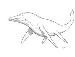 Kronosaurus queenslandicus by King-Edmarka
