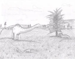 The Jurassic Serengeti by King-Edmarka