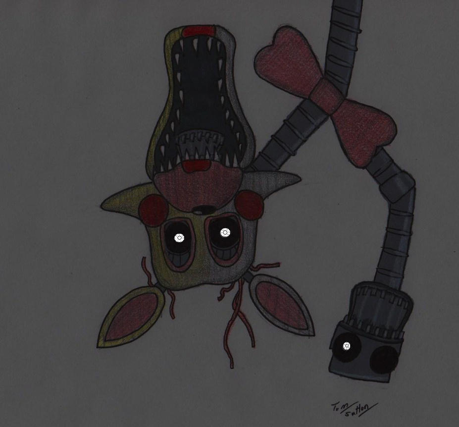 Five nights at freddy s mangle by king edmarka on deviantart