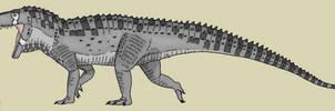 Saurosuchus galilei by King-Edmarka