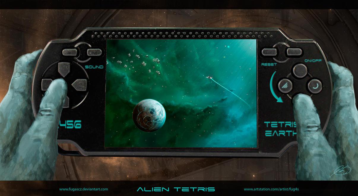 Alien Tetris by Fug4s
