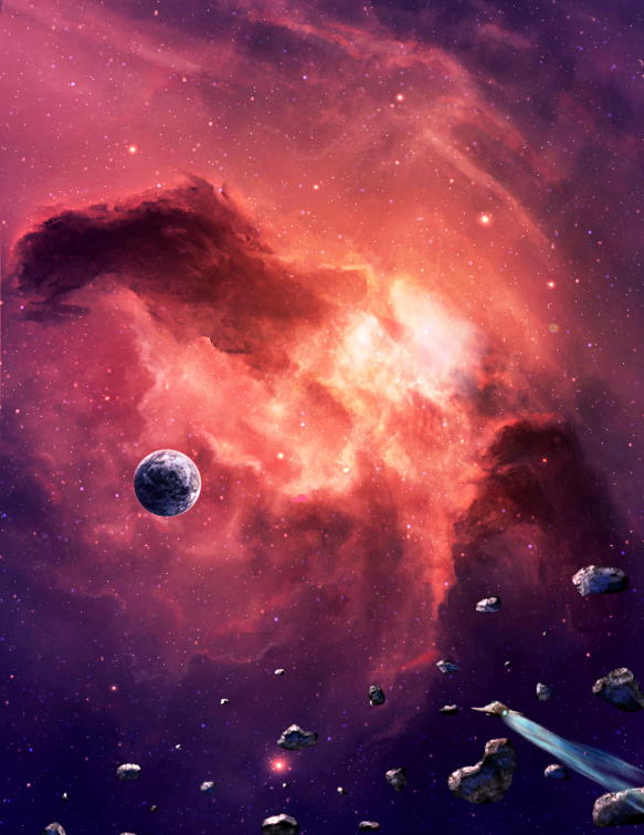 Space sunset by Fug4s