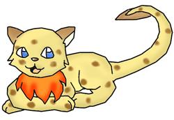 Fakemon:  Cuburn by Ket-Shi