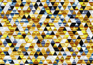 Beautiful triangular background for posters.