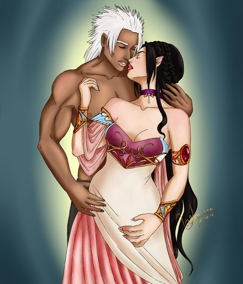 Loving Embrace by Valravna