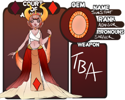 Courts of Anarchy Application: Sunstone by Valravna