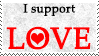 I support... LOVE! by Leteve
