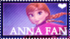 Anna (Frozen) Fan Stamp by Leteve