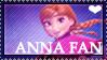 Anna (Frozen) Fan Stamp by Leteve