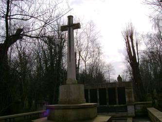 Graveyard ghost by Bulbacroak