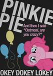 Pinkie Pie Typography Poster