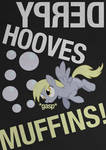 Derpy Hooves Typography Poster