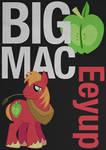 BigMacintosh Typography Poster